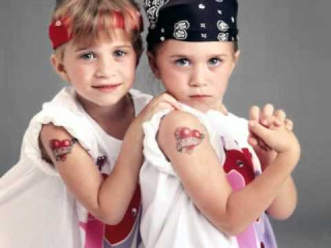 Mary-Kate and Ashley Olsen as kids - YouTube