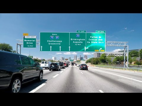 🔴 Live Stream - Road Trip #311A - Atlanta Virtual Traffic Experience