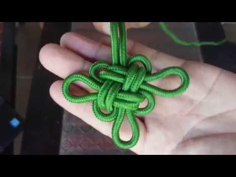 Cách thắt nút hoa 4 cánh siêu đơn giản và siêu đẹp | Sinh Vlog