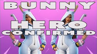 Fortnite Bunny Hero CONFIRMED | Can You Guess Who She Is?