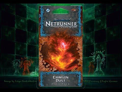 Netrunner : Crimson Dust Data Pack Review