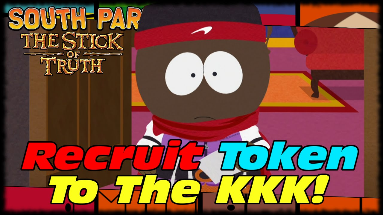 Recruiting Token To Join The KKK South Park Stick Of