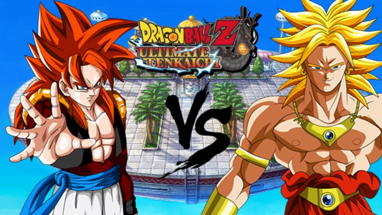 SSJ4 Gogeta VS Broly | DragonBall Z Ultimate Tenkaichi ...