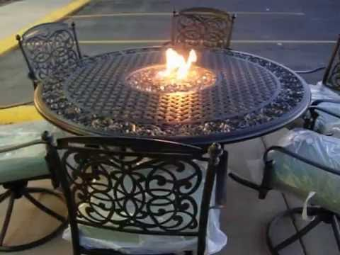 Rick Smith Patio Flame Fire Table Conversion Fort Collins CO