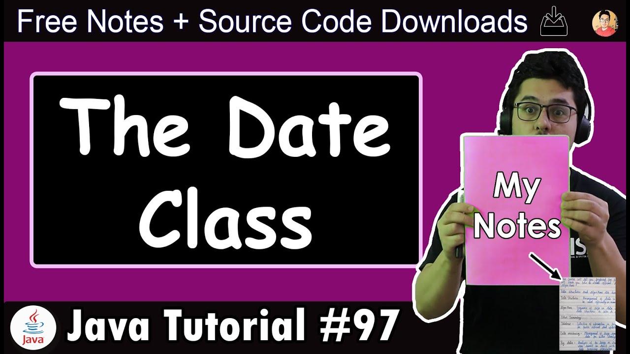 The Date Class in Java