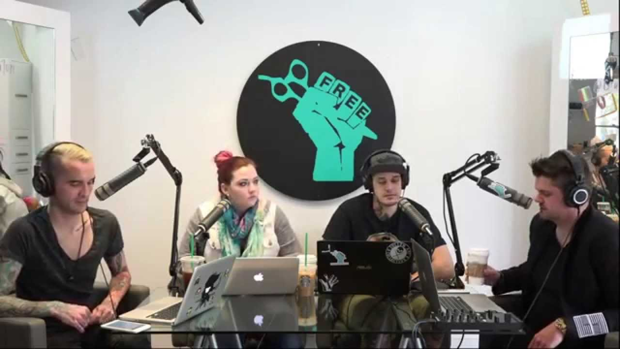 #77 Splitting Hairs LIVE Video Podcast Featuring an Interview with The CLIPPER GUY Ivan Zoot