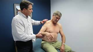 Axillary nerve injury evaluation by Paul Marquis PT