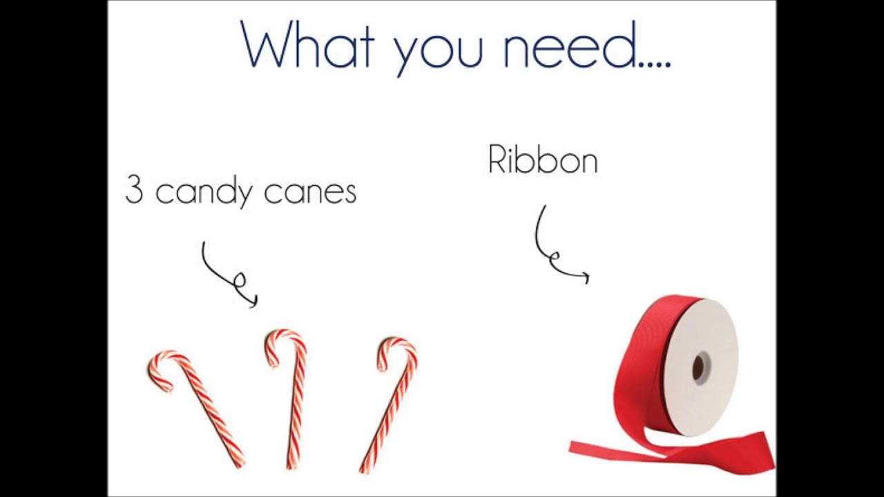 DIY Candy Cane Place Card Holders - YouTube