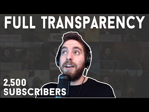 2,500 Subscribers Q&A and Giveaway | FULL TRANSPARENCY