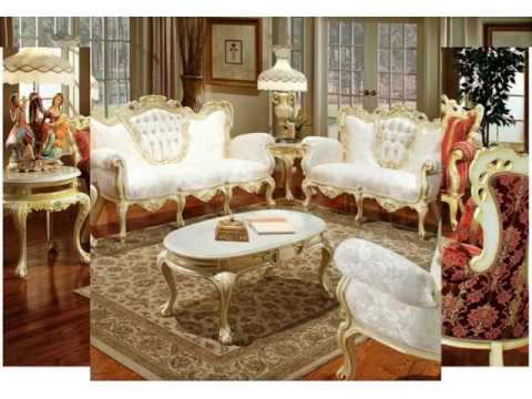 Victorian Living Room Furniture - YouTube