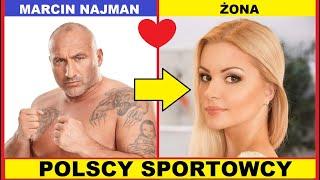 POPULARNI POLSCY SPORTOWCY ze Swoimi Partnerami i Partnerkami m.in Marcin Najman, Irena Szewińska