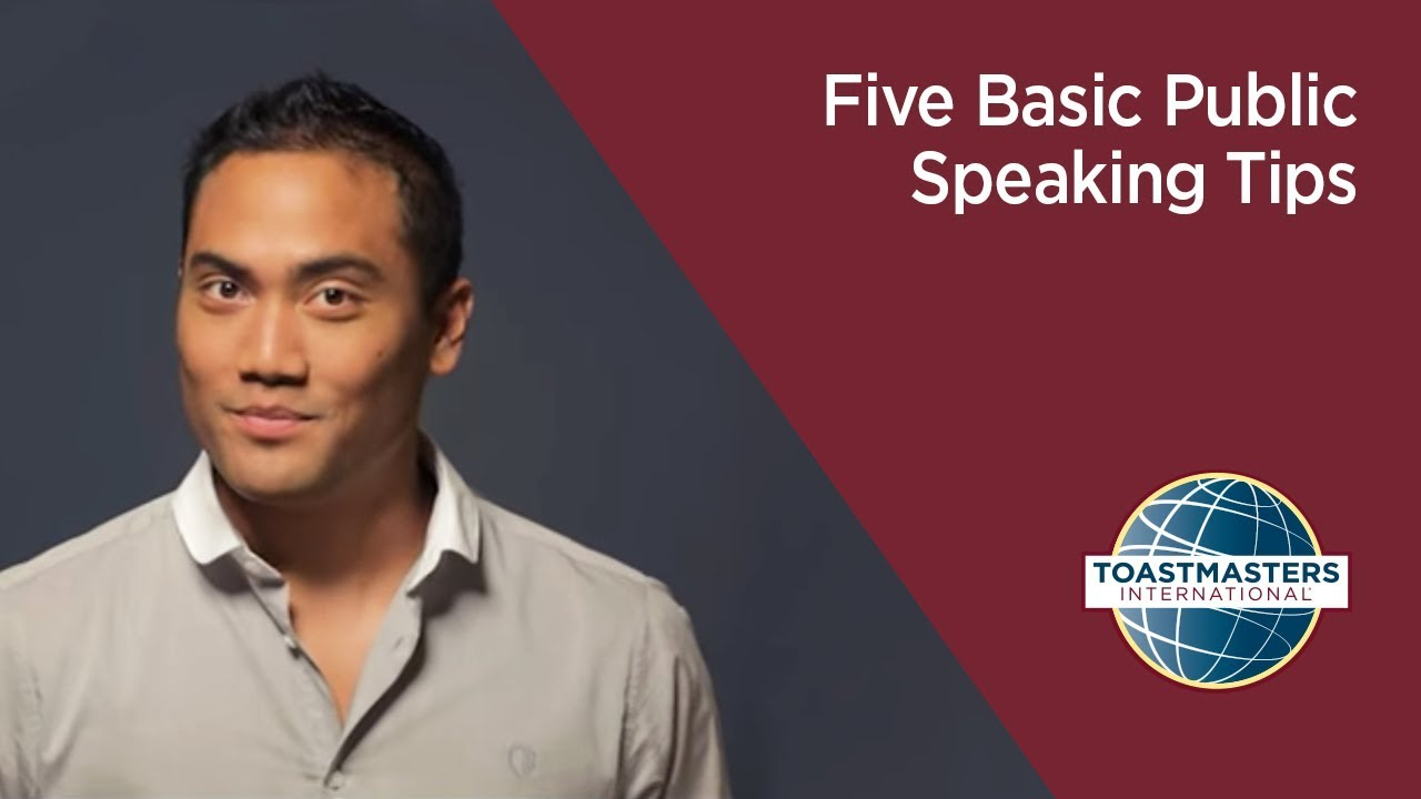 Public Tips Five Basic Public Speaking Tips