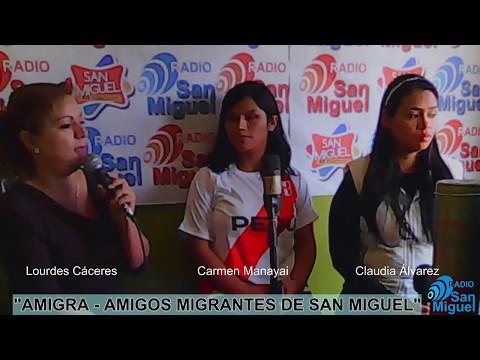 """PROGRAMA RADIAL """"AMIGRA"""" de Radio San MIguel Online"""