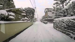 長崎大雪(時津→ららcoop滑石)