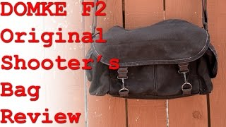 Domke F2 Shooter's Review - Made in the USA