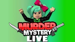 Late Night MURDER FRIDAY Roblox Live Stream SallyGreenGamer