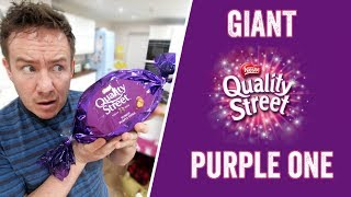 Giant Quality Street - The Purple One