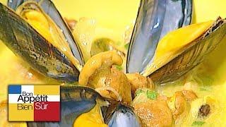 [Recette] Bouillabaisse de Moules Aux Girolles - Chef Régis Marcon