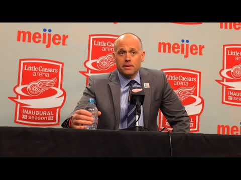 Jeff Blashill breaks down Red Wings' shootout loss to Columbus