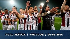 Full match / #WILdor / 04-04-2014