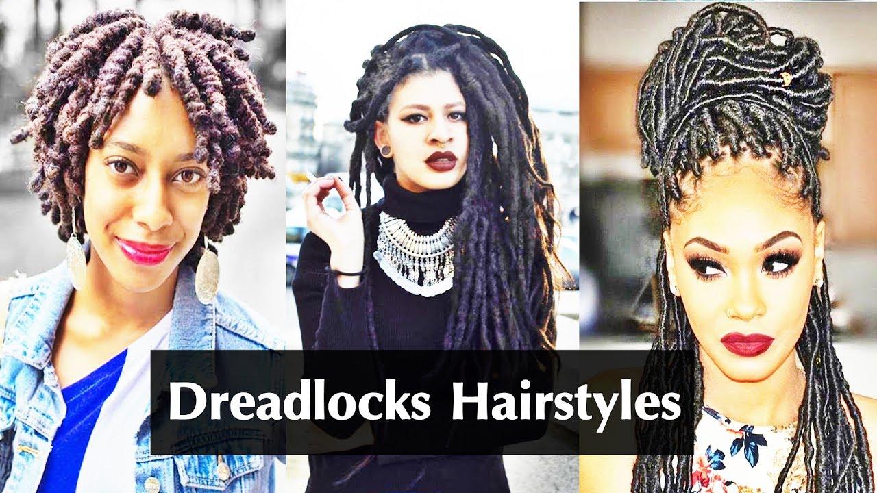Dreadlocks Hairstyles For American African Black Women