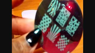 Salon Express Nail Art Stamping Kit - 1st Attempt