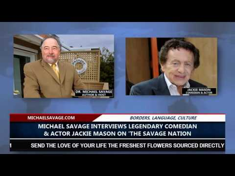 Michael Savage Interviews Legendary Comedian Jackie Mason (8 13 15)