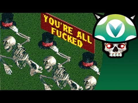 [vinesauce]-joel---destroying-rollercoaster-tycoon:-multiplayer-mod-disaster