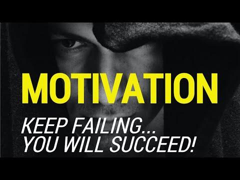 MOTIVATION - Keep Failing & You Will Succeed! Powerful Motivational Speech 2020.