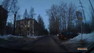 г.Северодвинск, о.Ягры, ул.Корабельная. 13.03.2017г.