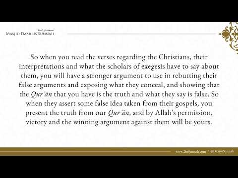 Recommend Books on Refuting the Christians - Shaykh Muhammad Bazmool