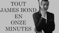 Résumons tous les films James Bond (en onze minutes)