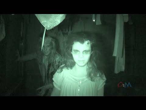 Full Bates Motel haunted house POV walkthrough in Pennsylvania