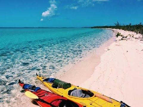 Kayak Exuma, Bahamas