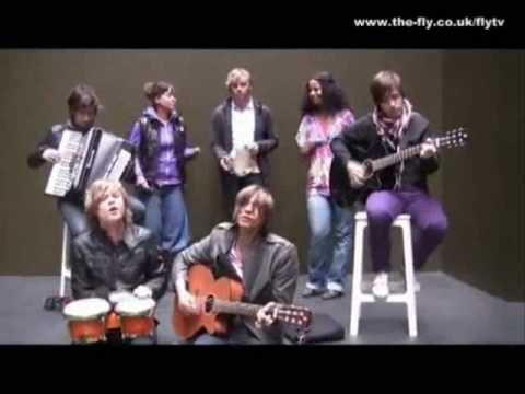 MANDO DIAO-ACOUSTIC SESSION AT FLY TV in the courtyard  | 14-09-09 |