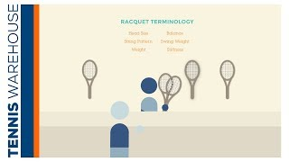 How to Pick a Tennis Racquet -- Racquet Terms & Specs Explained