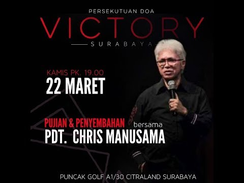 PD Victory Sby - 22.03.18 - Pdt. Chris Manusama