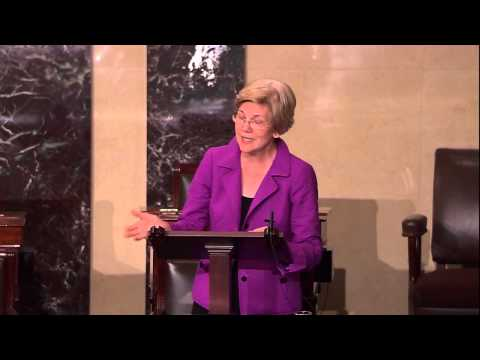 Senator Elizabeth Warren Introduces the 21st Century Glass-Steagall Act