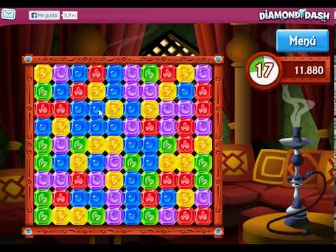 Diamond Dash Facebook Free Game - Juegos Gratis de Facebook