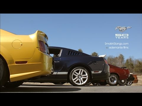 Ford Mustang - 50 Years of Awesome