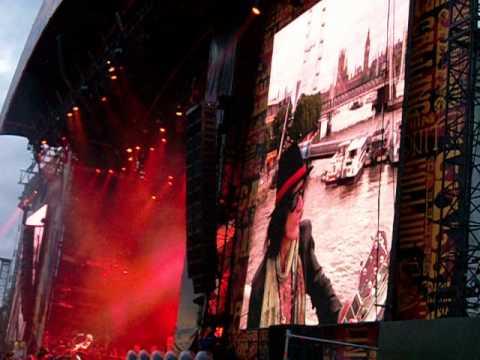 Aerosmith - Freedom Fighter CALLING Festival 2014 LONDON