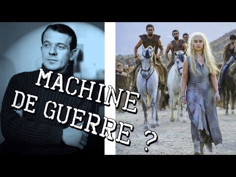 State apparatus or war machines ? ⚜ Gilles Deleuze (Philosophy)