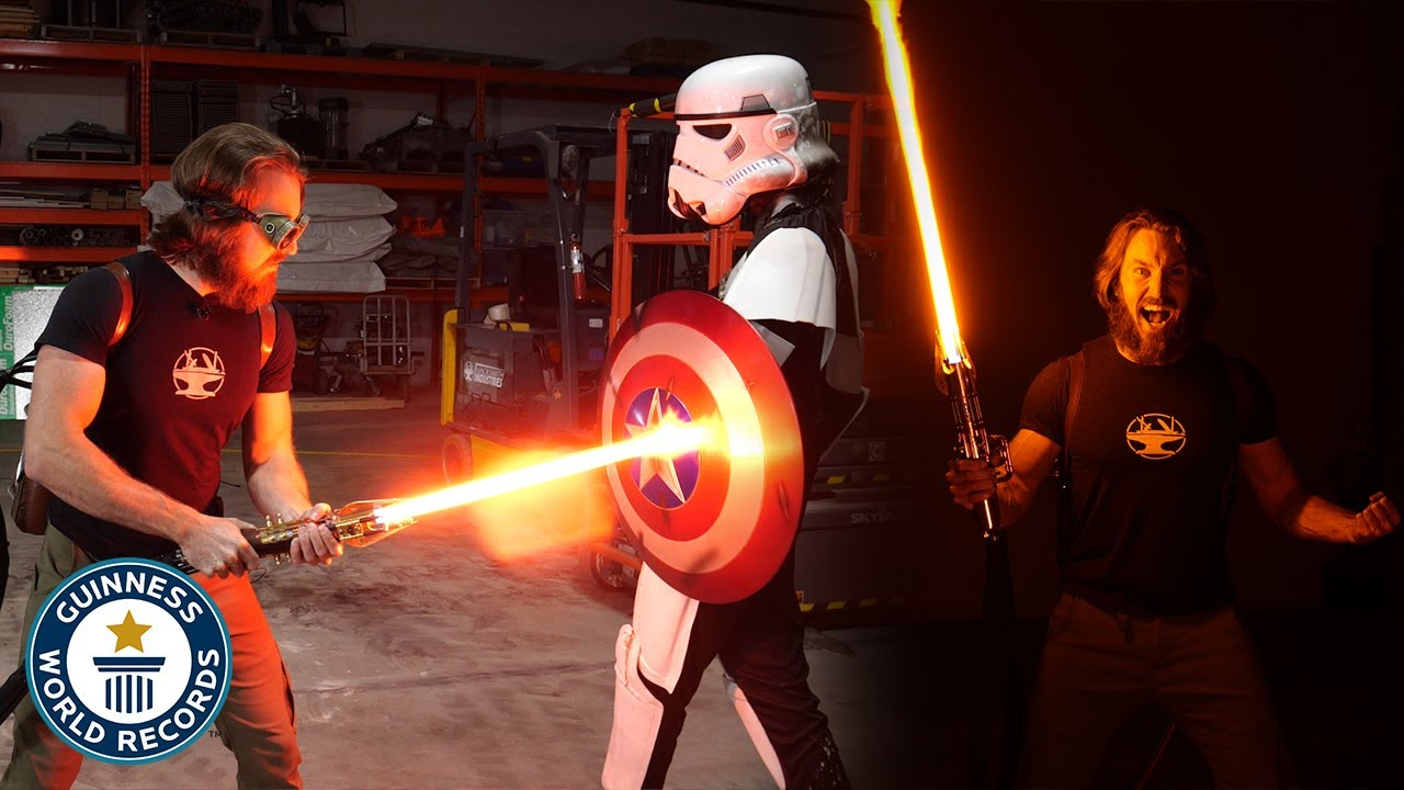 Download World's First Lightsaber! - Guinness World Records