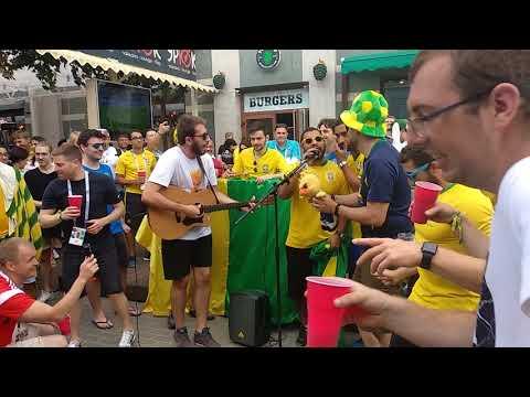 Концерт Бразильских болельщиков