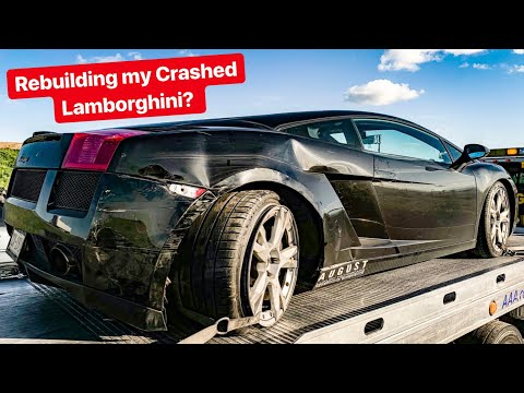 REBUILDING MY CRASHED LAMBORGHINI?? *REPAIR QUOTE EXPLAINED*