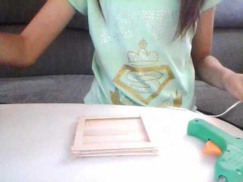 Como hacer una canasta de palitos de madera youtube for Como construir una biopiscina
