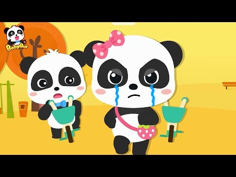 Baby Panda's Bicycle Competition, Who Failed? | Vehicle Songs | Learn Transportation | BabyBus
