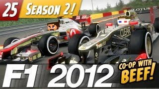 F1 2012 Co-op with VintageBeef - E25 - Steering Wheel