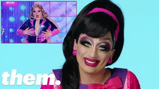Bianca Del Rio Reads RuPaul's Drag Race Season 10 Queens' Looks | LGBTQuiz | them.