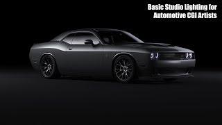 Tutorial: Basic Studio Lighting for Automotive CGI Artists Mp3
